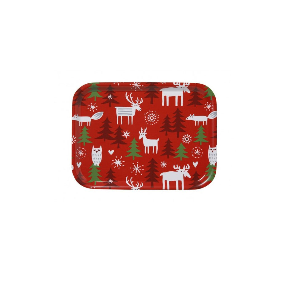 Christmas Forest Tray - Small