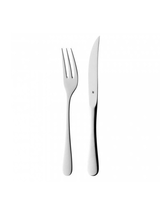 Steak Knives and Forks Set - 12pc
