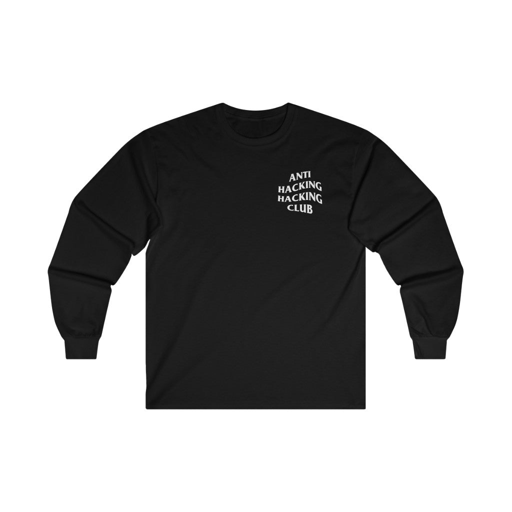 Anti Hacking Hacking Club - Long Sleeve Black