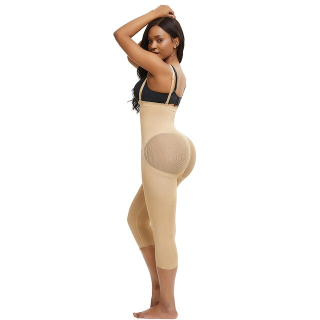 SOSHAPES™ Full Compression Braless Capri Length Shaper