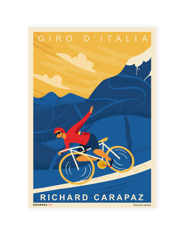 RICHARD CARAPAZ - Affiches sports design - vintages & entrepreneuriales