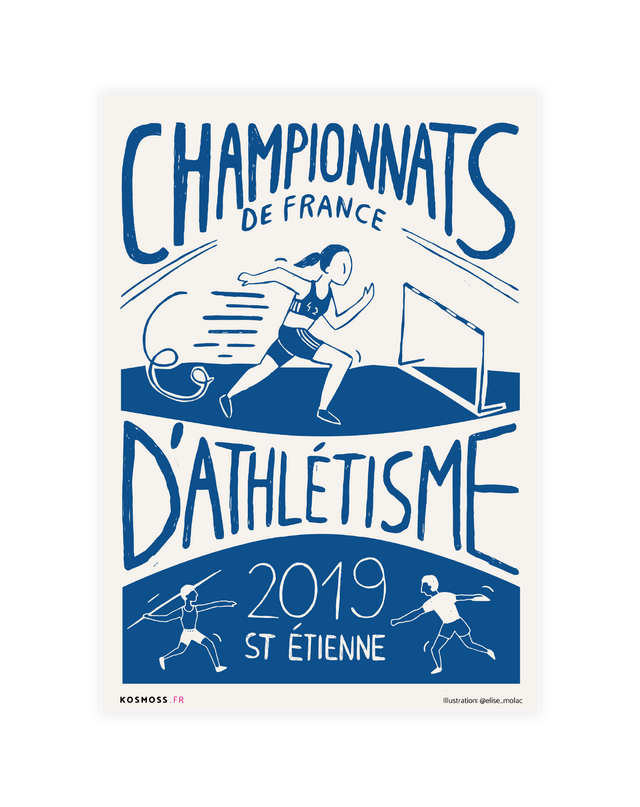 Championnats de France d'athlétisme - Lucky Punch