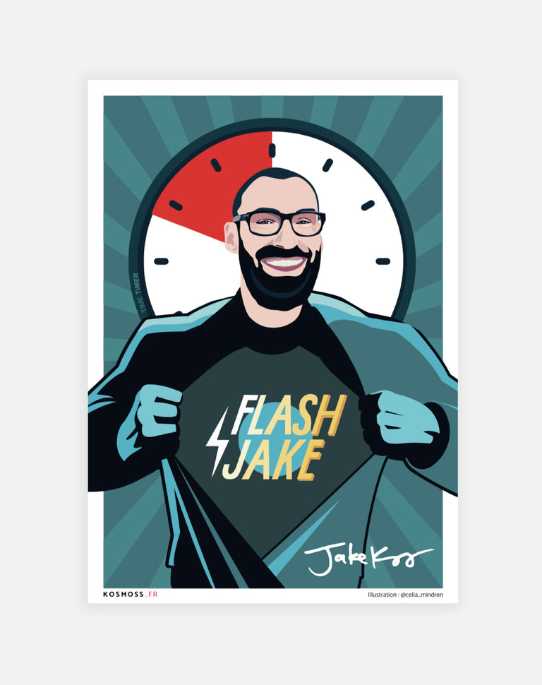 Flash Jake's poster - Lucky Punch