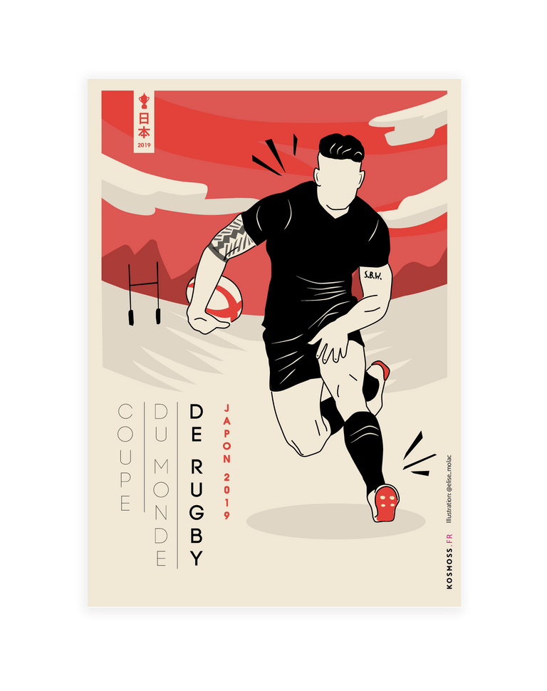 Coupe du monde de rugby - Lucky Punch
