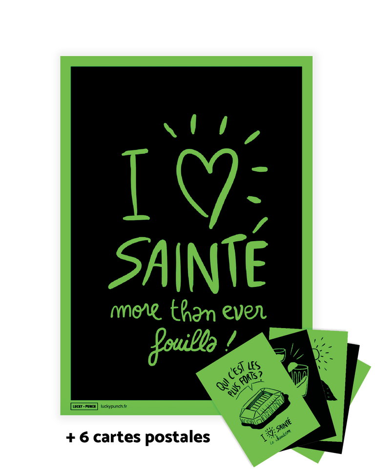 I love Sainté - Lucky Punch