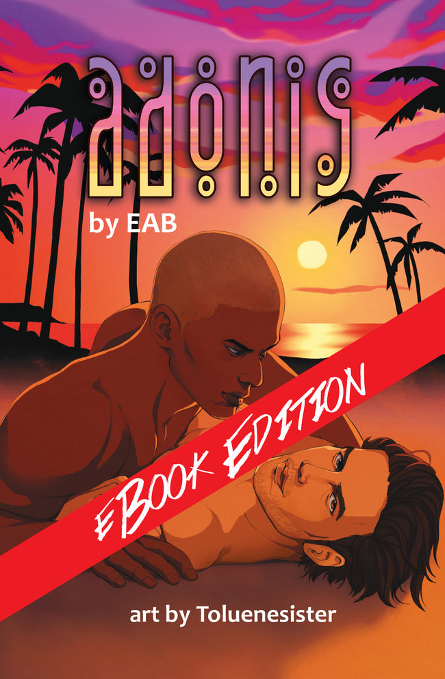 eBook: Adonis by EAB - Art by Toluenesister