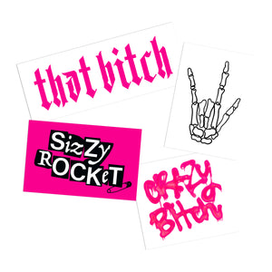 BITCH STICKER PACK