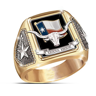 BAGUE MILITAIRE - TEXAS (OR)
