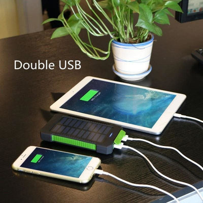CHARGEUR SOLAIRE - POWER BANK - CHARGEUR SOLAIRE