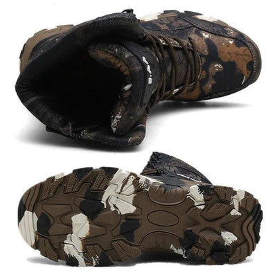 CHAUSSURE MILITAIRE CAMOUFLAGE - CHAUSSURE MILITAIRE