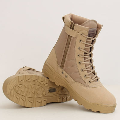 CHAUSSURE MILITAIRE MONTANTE A LACET - CHAUSSURE MILITAIRE