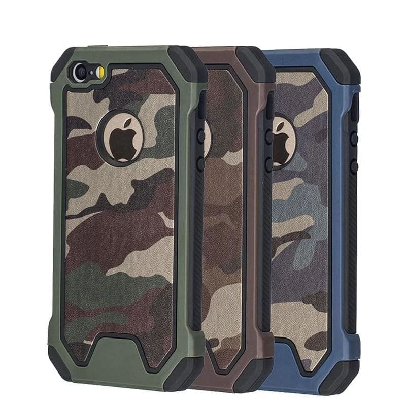 COQUE MILITAIRE - IPHONE 5/5S/SE 6/6S/7 Plus/8 8plus X XR XS MAX 11pro max