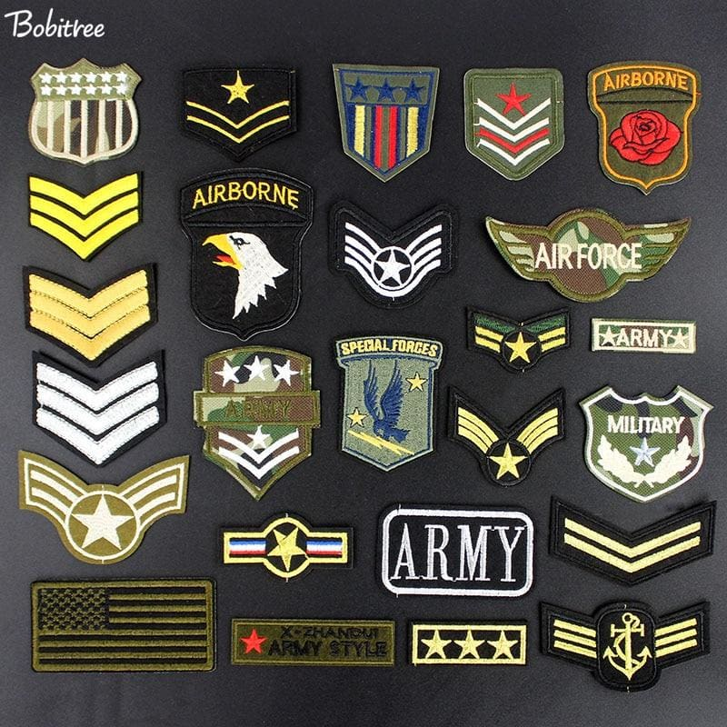 PATCH MILITAIRE AIRBORNE