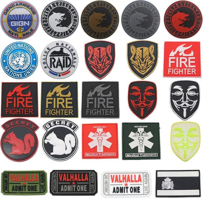 PATCH MILITAIRE - SECRET MONDIALE