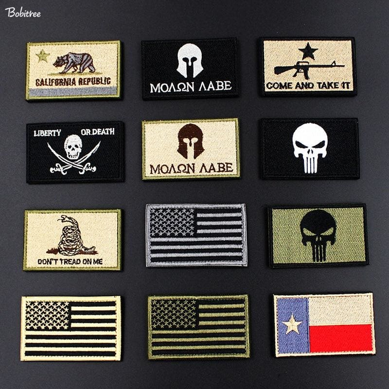 PATCH MILITAIRE VELCRO