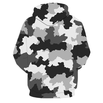 SWEAT MILITAIRE CAMOUFLAGE HIVER