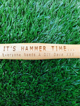 Load image into Gallery viewer, Personalised Hammer 16oz Steel and Hardwood Custom Made Gift