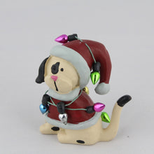 Load image into Gallery viewer, Christmas Dog Ornaments with 'Fairy Lights'