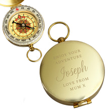 Load image into Gallery viewer, Personalised Compass a Classic Keepsake