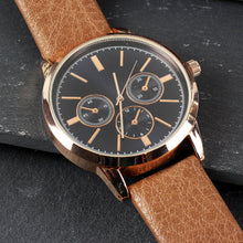 Load image into Gallery viewer, Personalised Rose Gold Men's Wrist Watch Father's Day Birthday Gift Ideas for Men