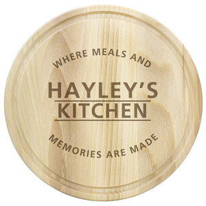 Personalised Chopping Board - Meals and Memories