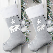 Load image into Gallery viewer, Personalised Christmas Stocking for Adults and Children