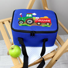 Load image into Gallery viewer, Personalised Tractor Lunch Bag