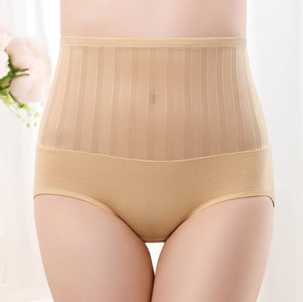 Chiczz Sexy mesh high waist postpartum tummy hip briefs