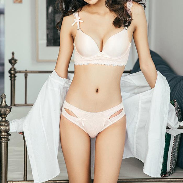 Chiczz Sexy Light And Seamless Rimless Bra Set