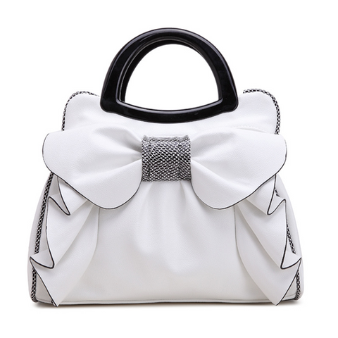 Chiczz Fashion simple sweet bow shoulder bag