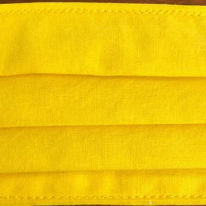 Fabric Face Mask - Yellow