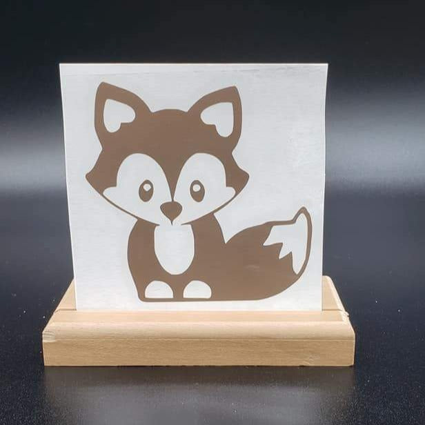Cute Fox Vinyl Decal