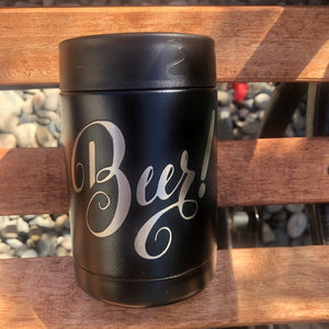 Beer! Beer or Soda Koozie - Ready Made