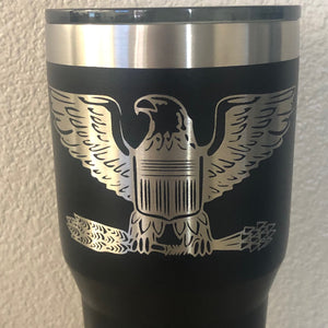 America Eagle Tumbler - Ready Made