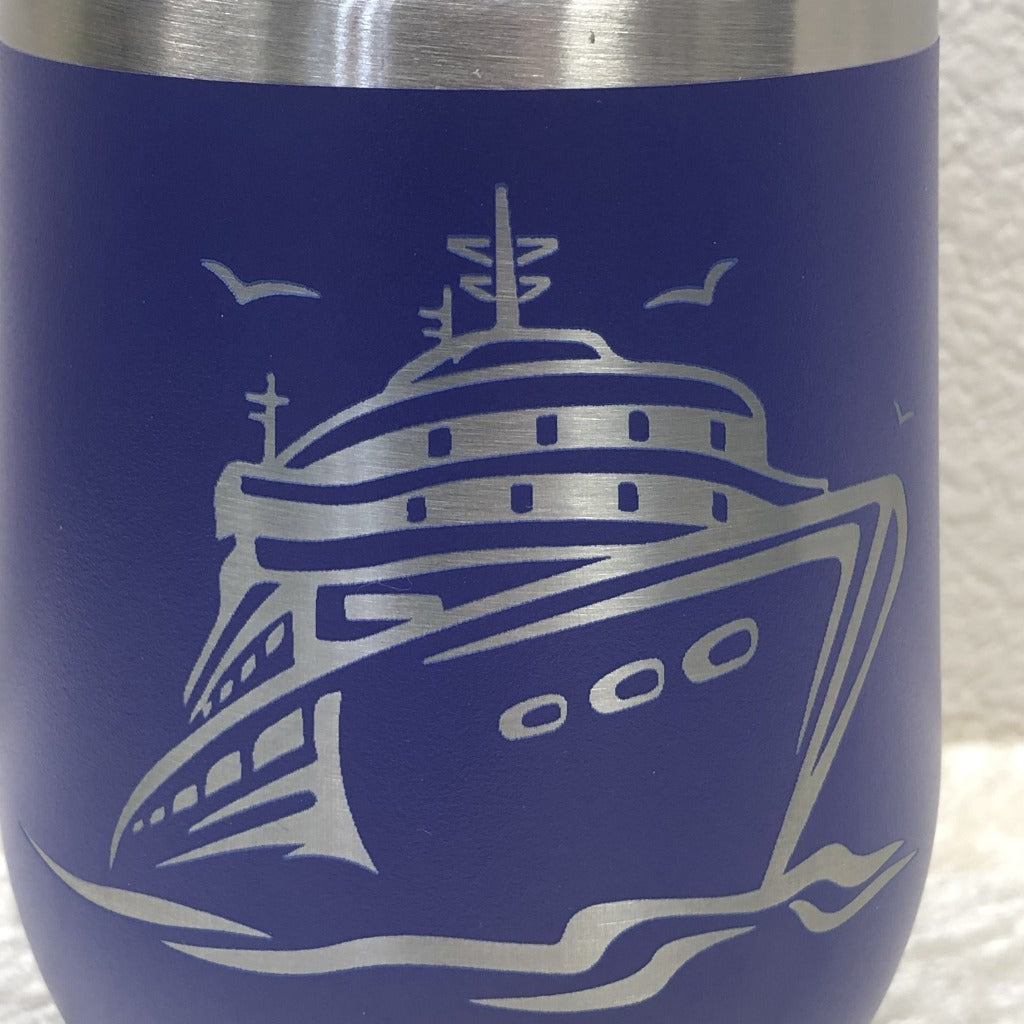 Cruise Ship Tumbler, 12 oz wine polar
