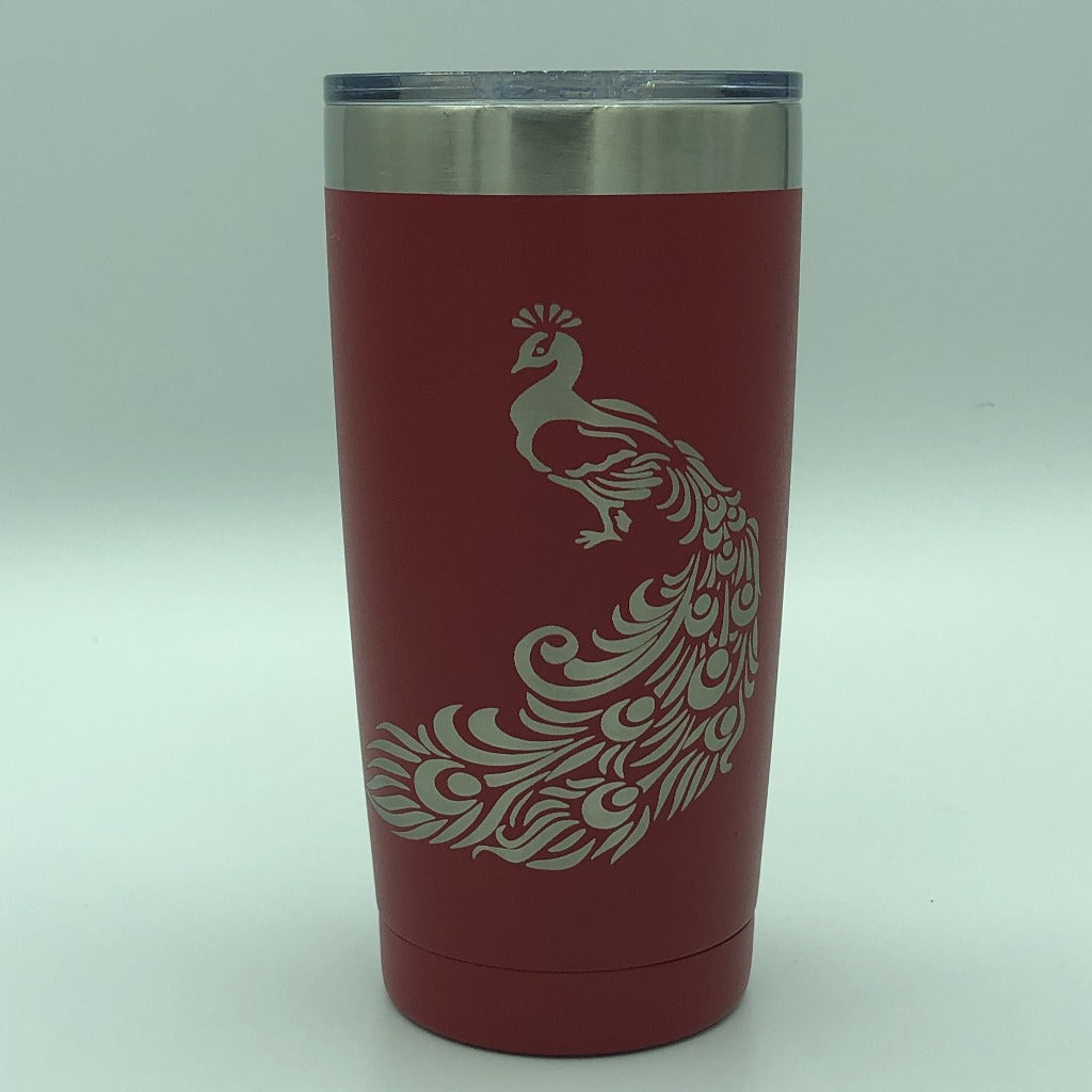 Peacock Tumbler, 20 oz polar