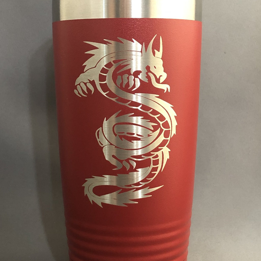 Dragon Tumbler, 20 oz polar