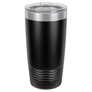 Horses in Horse Shoe Tumbler, 20 oz polar