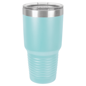 Canoe and Mountains Tumbler, 30 oz polar