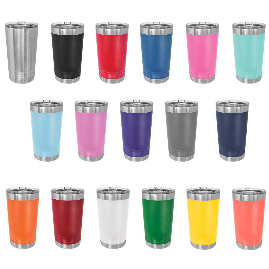 Create Your Own Design Tumbler, 16 oz pint polar