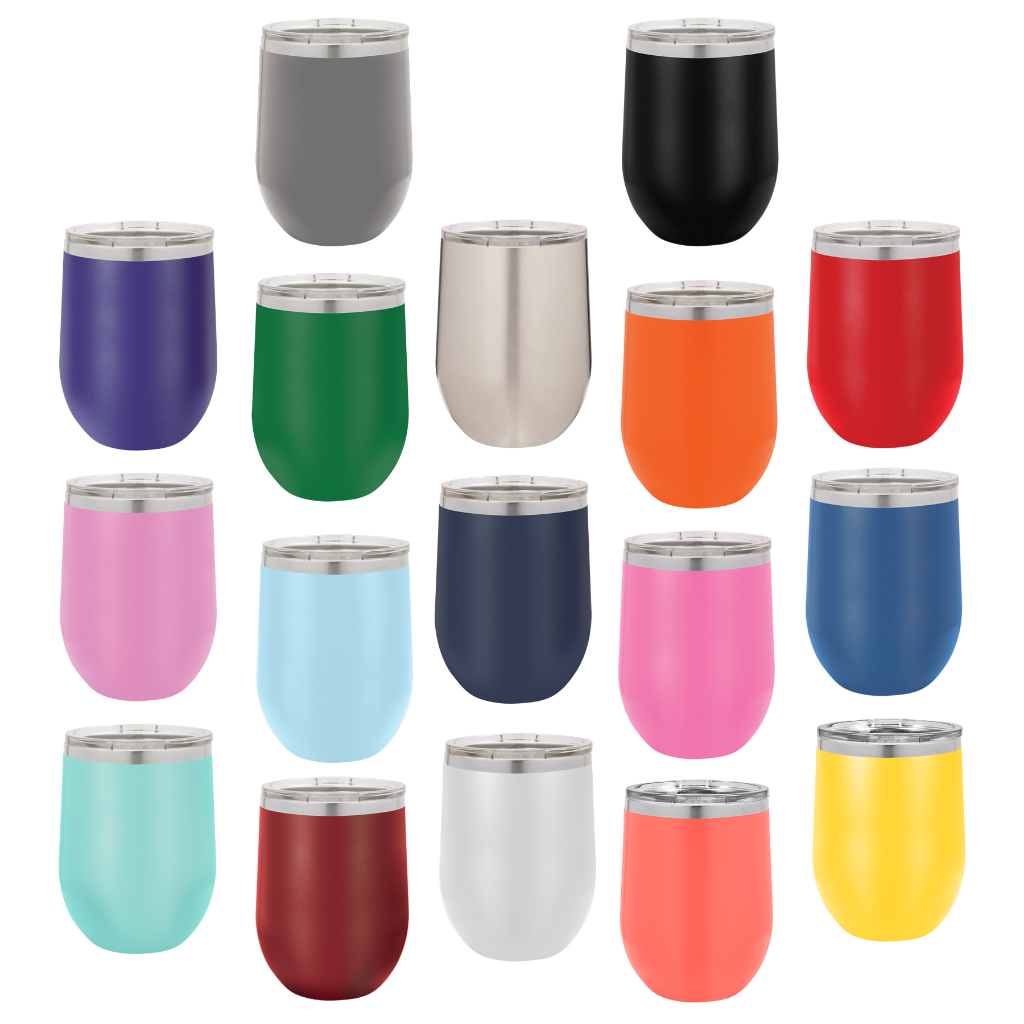 Create Your Own Design Tumbler, 12 oz wine polar