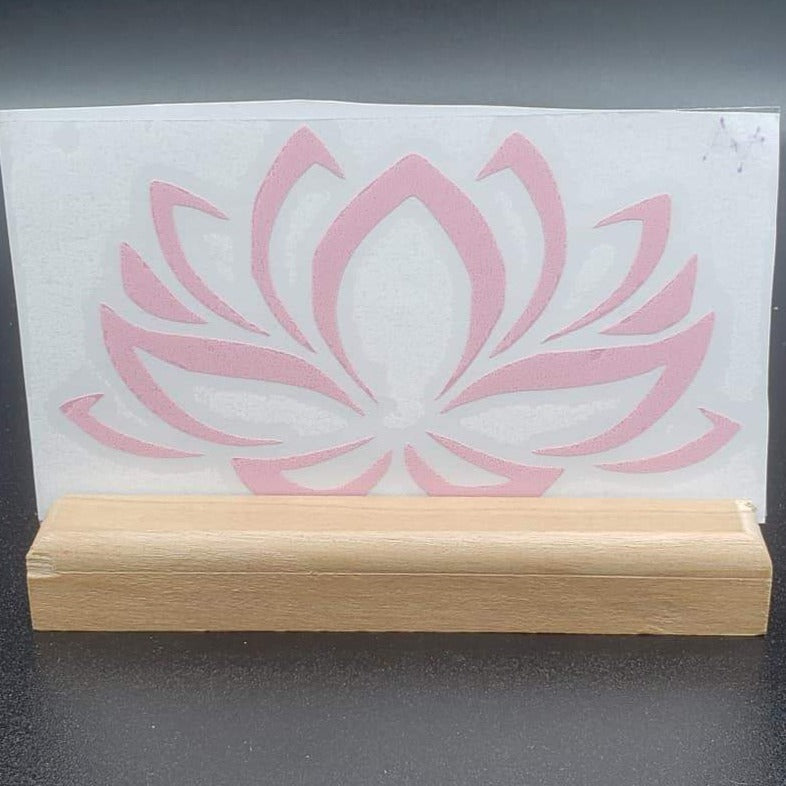 Lotus Flower Vinyl Decal