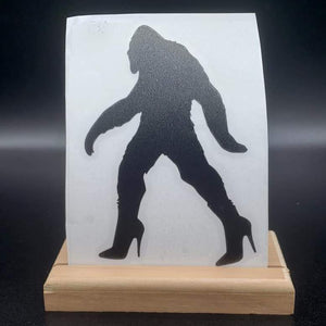 Sassquatch Vinyl Decal