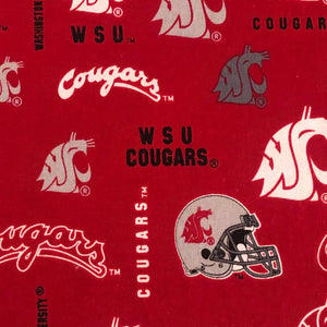 Fabric Face Mask - Cougars