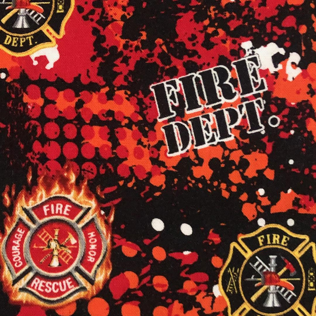 Fabric Face Mask - Fire Department