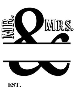 Personalized Bamboo Cutting Board, Mr and Mrs