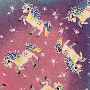 Fabric Face Mask - Unicorns