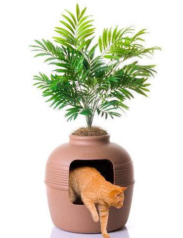 hidden litter box vase