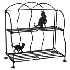 countertop cat shelf rack