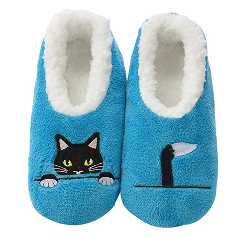 peeking black cat snoozies for cat lovers